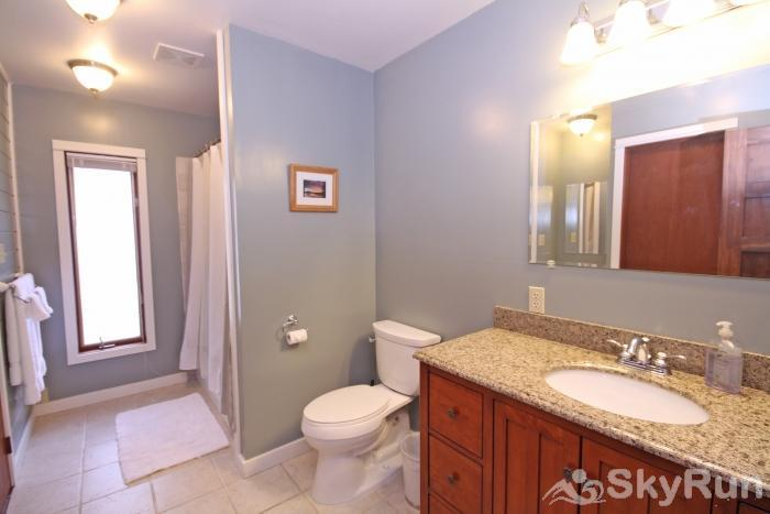 The Clayton House Master Bathroom