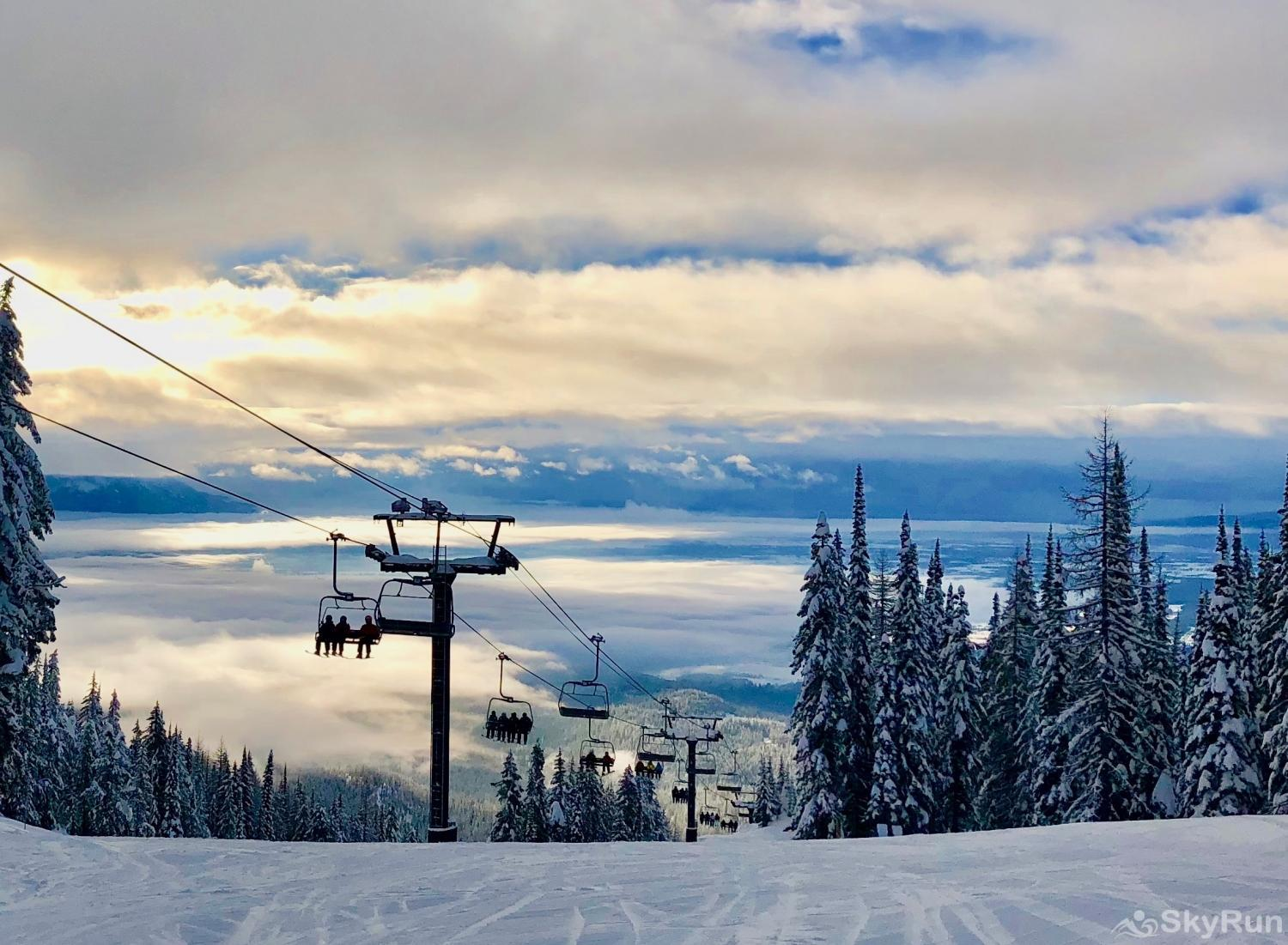 Highland Huckleberry Lodge Whitefish Mountain Resort - 3,000 acres, 105 marked trails