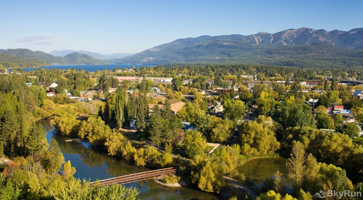 Whitefish River Inn Have access to the mountain, Glacier National Park, downtown Whitefish, the river and Whitefish Lake.