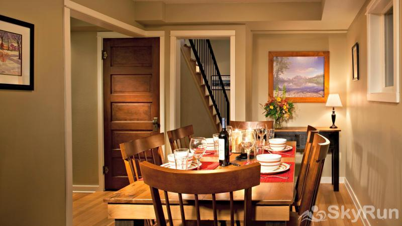 The Clayton House Dining Area
